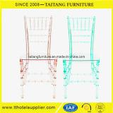 고품질 공간 합성 수지는 투명한 의자를 착석시킨다