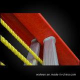 高品質によって絶縁されるガラス繊維の多目的繰出しはしご