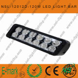 120W 4X4 크리 말 LED Car Light, Road 떨어져, Auto LED Light Bar LED Driving