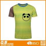 Moda de impresión para hombre de secado rápido Camiseta colorida