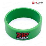 Etiqueta sin contacto de la venda de reloj de la pulsera del Wristband del silicón de la identificación RFID del IC