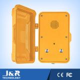 Telefono Emergency Handsfree resistente all'intemperie con il tasto doppio da chiamare