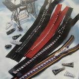 Quality superior Rhinestones Zipper C/E ou O/E