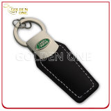 Personifizierte PU-lederne Schlüsselkette mit Decklack-Firmenzeichen