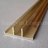 Profil en aluminium anodisé pour le support solaire