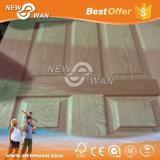 Classic White Painted Primer Door / HDF moulé White Primer Door Skin pour hôtel, chambre