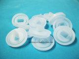 Fiche résistante transparente en caoutchouc de silicones de température élevée et d'alcali pour la machine-outil