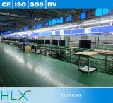 Hlx LED TV más planta de fabricación del transportador de cadena de la velocidad