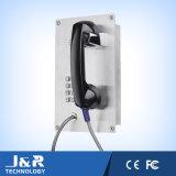 耐久のABSプラスチック電話受話器、金属ホースヤーンの受話器、反破壊者の電話受話器