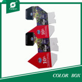 2016 Fashion Design Carton ondulé Four Bottles Wine Box