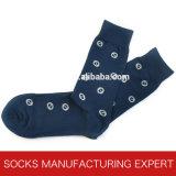 Bunte Form-beiläufiges Kleid-Socken der Männer (UBM 1005)