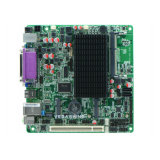 AtomN2800 MiniItx 6 COM-industrielle Motherboard Lvds DC12V Stromversorgung