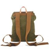 2016 Form-Weinlese-Rindleder-Leder-Abdeckung-junger Mann-Segeltuch-Handtasche (RS-1978A)