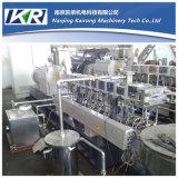 Plastik, der heißer Ausschnitt-Extruder-Abfall-granulierende Plastikmaschine pelletisiert