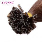 100%の人間の毛髪Uの先端の毛の拡張/釘の毛の拡張