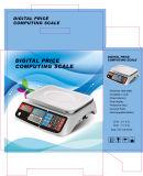 Escala computacional del precio electrónico (DH-605)