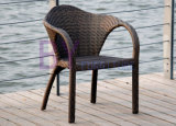 호텔 다방 등나무 옥외 식사 의자 Three-Piece 가구에 의하여 450
