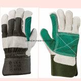 """短い溶接手袋、安全働く手袋、10.5の""""修繕されたやし皮手袋、補強されたやし革働く手袋、ドライバー手袋の製造者"""