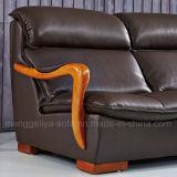 Massage-ledernes Wohnzimmer-Sofa (908)