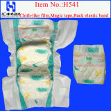 Cloth Diaper/Disposable Baby Nappy with Magic Tapes (H541)