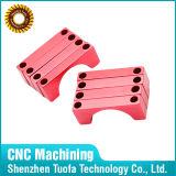 De geanodiseerde Componenten van de Hardware van Delen van het Metaal/van het Aluminium, CNC het Machinaal bewerken van de Precisie