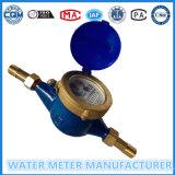 Multi-Jet del contador del agua, de latón de marcación de tintorería Metros Tipo Agua