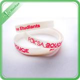 Braccialetto del silicone di marchio stampato Wristband del silicone personalizzato fabbrica