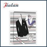 Мешок подарка покупкы костюма лоснистого прокатанного M бумаги с покрытием бумажный