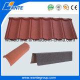 Los mejores azulejos de azotea revestidos de la arena del precio/del metal de la piedra para la forma acanalada China del material para techos