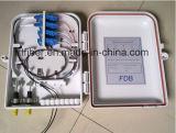 Rectángulo terminal FTTH del cliente portuario de la fibra de 16
