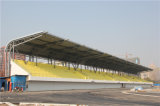 Material para techos del estadio de la estructura del braguero del tubo del tubo de acero