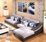 Heiße Möbel-Leder-Sofa-Möbel des Wohnzimmer-2016