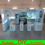 Алюминиевая будочка индикации стойки выставки проекта Reusable&Portable