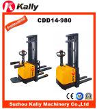1.4ton elektrische Stapelaar met het Elektronische Systeem van de Stuurbekrachtiging (CDD14-980)