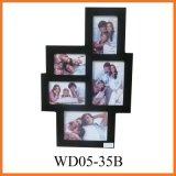 Деревянная рамка фотоего для офиса (WD05-35B)