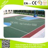 Pavimentazione di collegamento impermeabile variopinta per il campo da pallacanestro