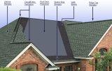El asfalto del material para techos de Constrcution saturó el fieltro