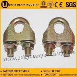 Clip malléable de câble métallique DIN 1142