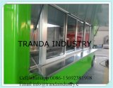 Передвижной автомобиль еды для тележки еды сбывания/торгового автомата