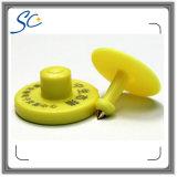modifica di orecchio elettronica standard della plastica RFID di 134.2kHz Fdx-B