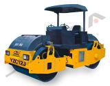 China-Straßen-Verdichtungsgerät-Fabrik 12 Tonnen-Doppelt-Trommel-Straßen-Verdichtungsgerät (YZC12J)