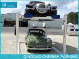 Подъем стоянкы автомобилей автомобиля столба 4