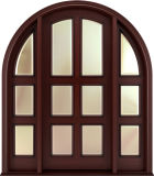 従来型の固体堅材のドアデザイン