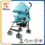 La Chine a fabriqué le landau en acier léger de bébé de qualité avec le certificat