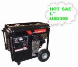 générateur 2000W diesel portatif pour l'usage résidentiel