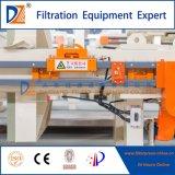 Filtre-presse de technologie neuve de Dazhang pour la série du cambouis Dewatering1250