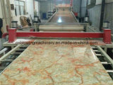 PVC Imitation Marble Board Production Line com Plastic