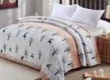 Épaississement simple, double, grande couverture estampée de polyester de couverture de flanelle (SR-B170316-12)