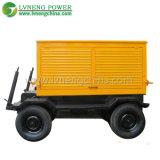 Remolque / Tipo Silencioso 200kVA Generadores Diesel Enfriados por Agua para Hospital Usado