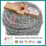 Alambre de púas galvanizado de la seguridad/cercado del alambre de púas/bobina del alambre de púas